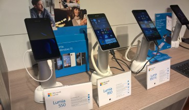 Lumia 550, 950 e 950 XL