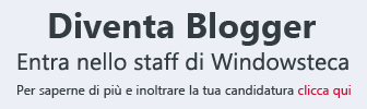 Diventa Blogger