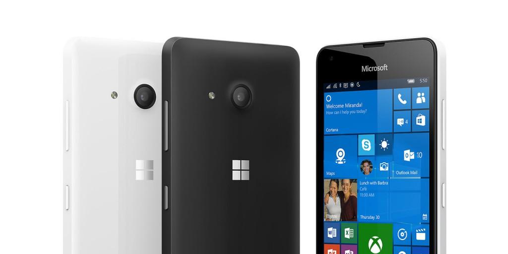 Anche il Lumia 550 riceve il firmware update 01078.00042.16352.50xxx (tramite WDRT)