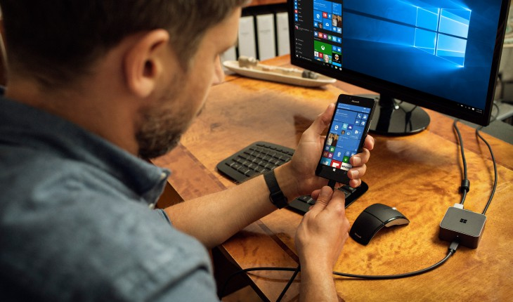 Continuum di Windows 10 Mobile