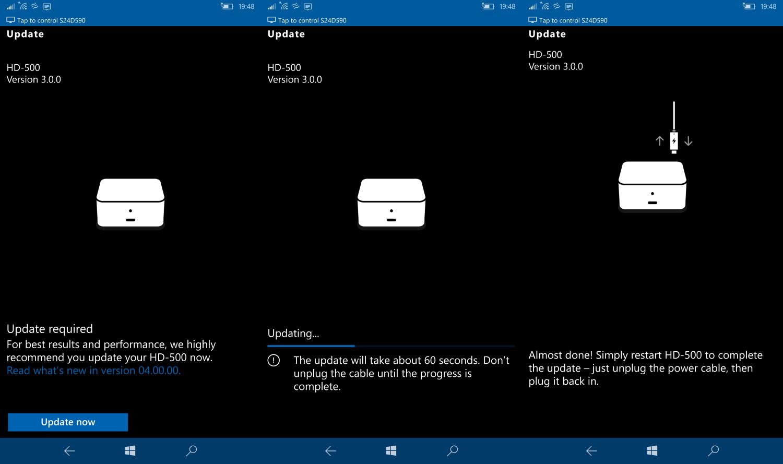 Update di Microsoft Display Dock