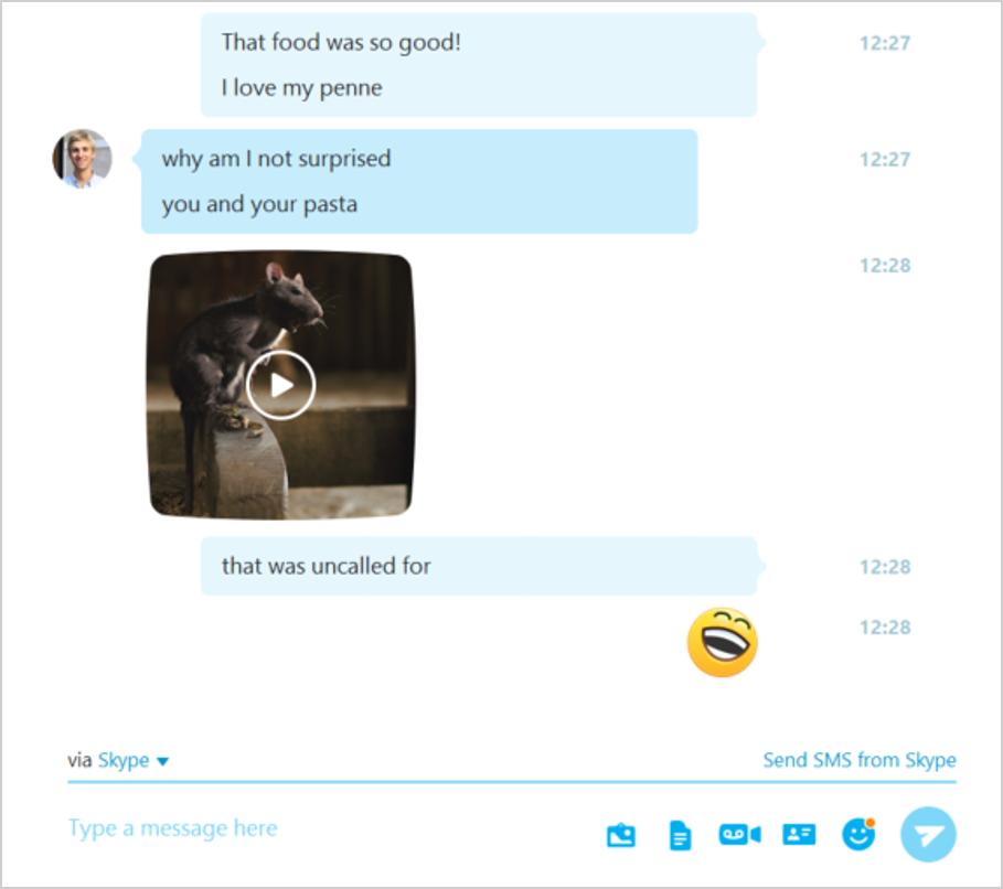 Skype v7.16