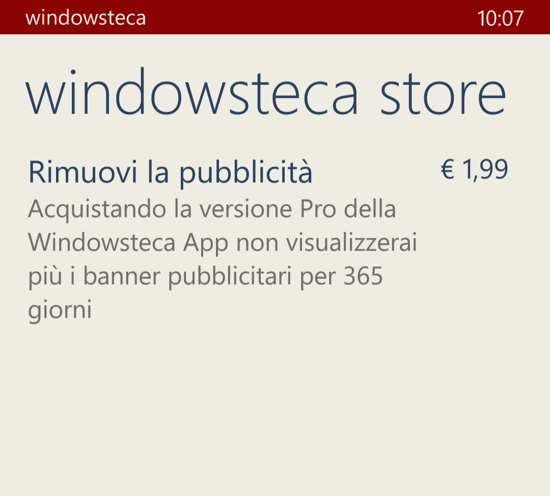 Acquisti in-app