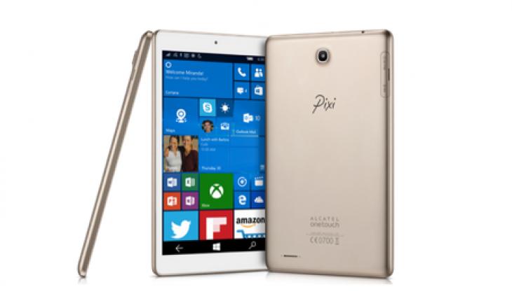Alcatel OneTouch Pixi 3, il primo tablet Windows 10 Mobile