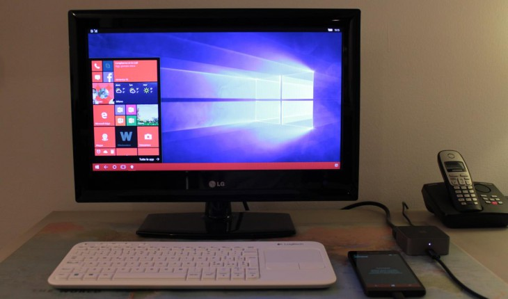 Continuum con Microsoft Display Dock