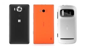 Lumia 950 vs Lumia 930 vs Nokia 808