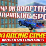 Roof Jump Car Parking