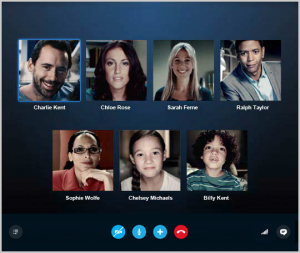 Videochiamate di gruppo