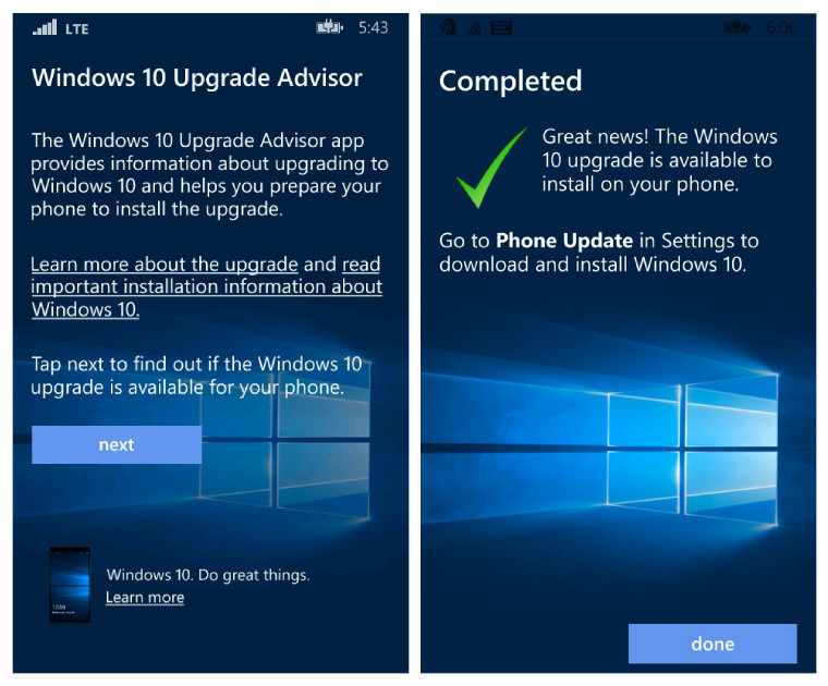 Windows 10 Upgrade Advisor