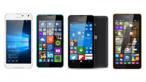 Lumia 650 vs Lumia 640 vs Lumia 550 vs Lumia 540
