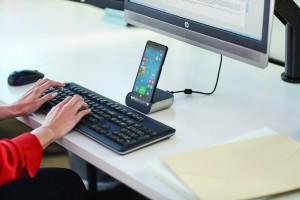 HP Elite x3 con Desk Dock