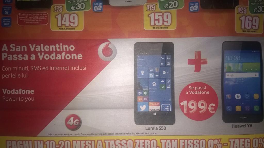 Offerta Lumia 550