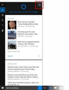 Cortana Music Search