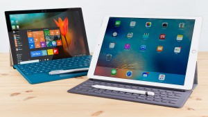 iPad Pro e Surface Pro 4