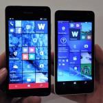 Lumia 650 e Lumia 550