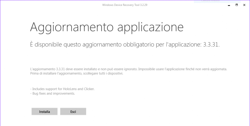 Update Windows Recovery Tool