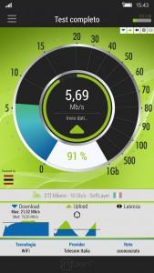 nPerf speed test