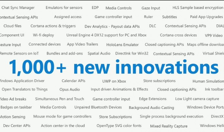Miglioramenti di Windows 10