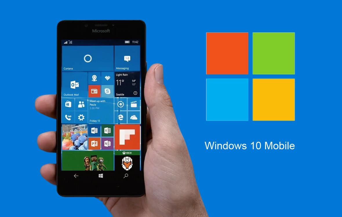 Microsoft svela alcune delle novitĂ in arrivo sui dispositivi Windows 10 Mobile