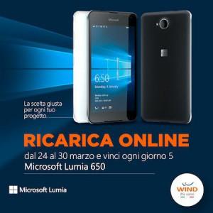 Vinci un Lumia 650