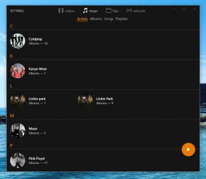 VLC nuova Unuiversal Windows App