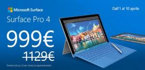 Offerta Surface Pro 4