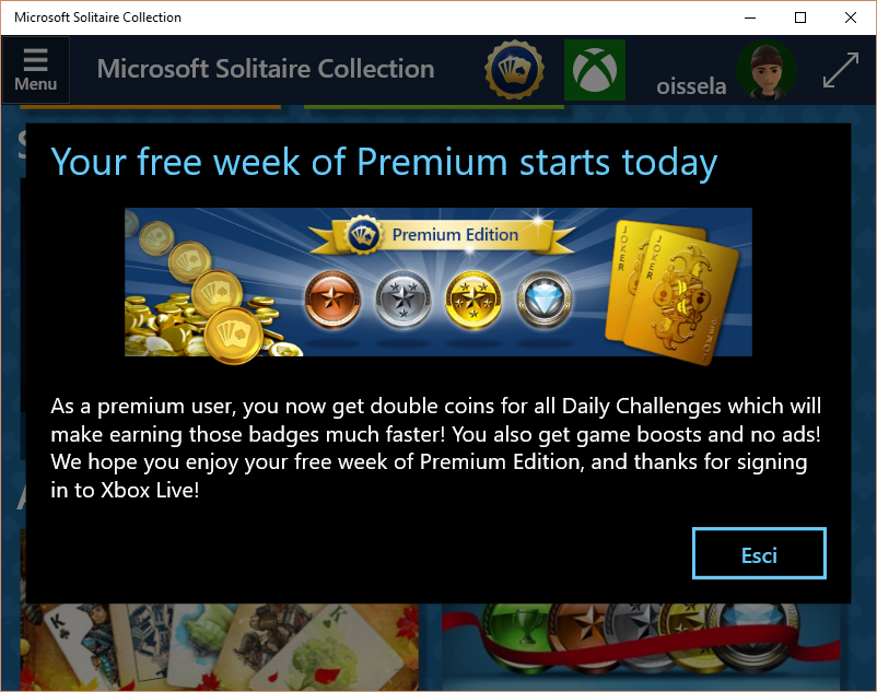 Microsoft Solitaire Collection Premium Edition