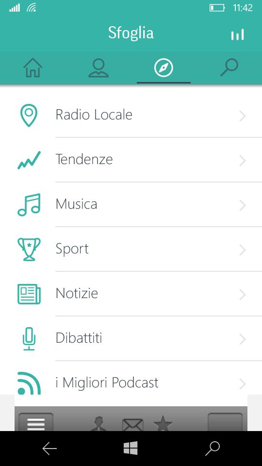 TuneIn Radio è ora disponibile anche per i dispositivi