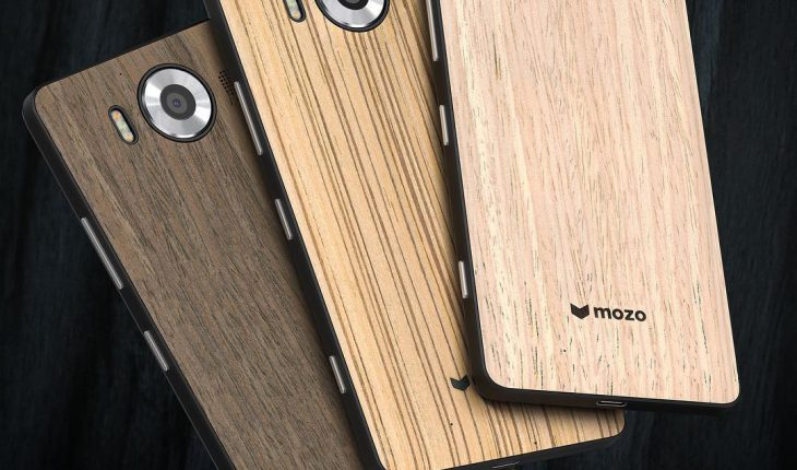 back-cover in legno per i Lumia 950 e 950 XL