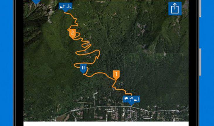 Microsoft Band introduce Explore tile: la funzione per il monitoraggio di escursioni