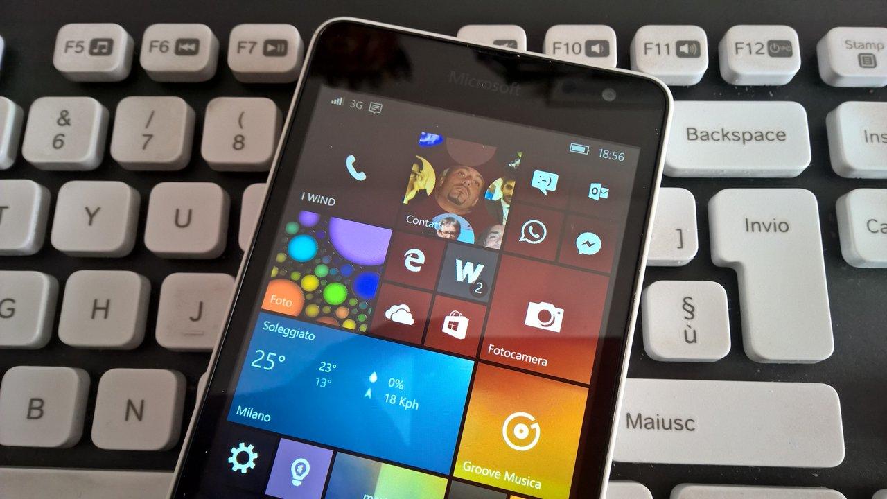 Windows 10 Mobile, nuova Build 14393.189 in distribuzione (Aggiornamento Cumulativo di AU)