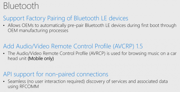 Novità Bluetooth