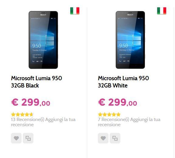 Offerta Microsoft Lumia 950