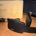Aukey Cuffie Stereo Wireless con tasti soft touch e microfono integrato (EP-B18)