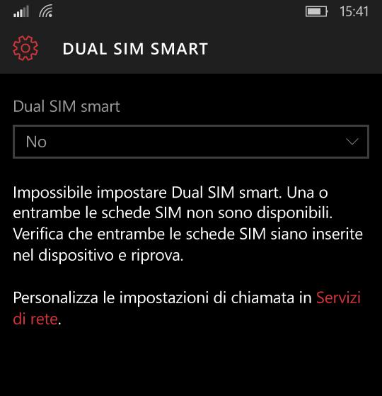 Smart dual SIM