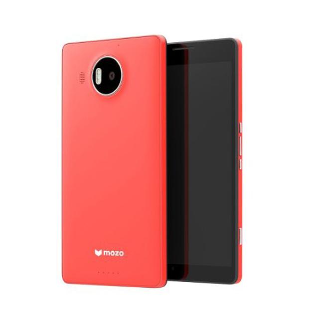 Custodia Mozo in policarbonato (colore corallo) per Lumia 950 XL