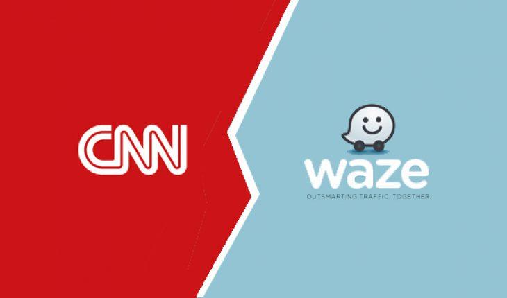 CNN e Waze