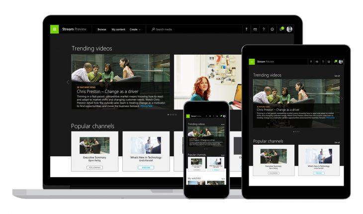 Microsoft Stream è lo YouTube aziendale