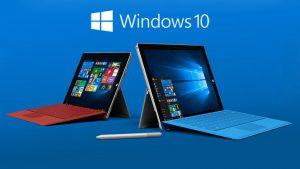 Surface con Windows 10