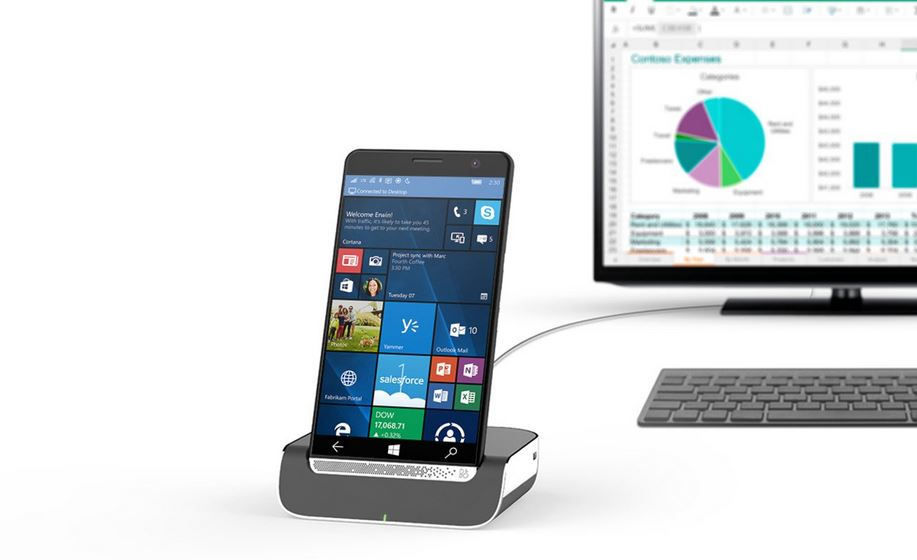 HP Elite x3, in Italia la variante con la Desk Dock in bundle sarĂ  proposta a 913,78 Euro