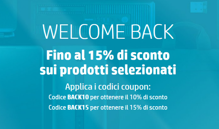 Welcome Back - HP Online Store