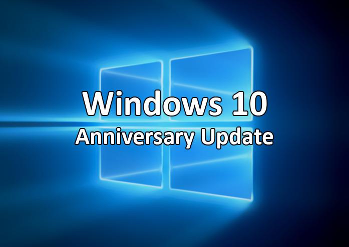 Microsoft: il rollout dell'Anniversary Update di Windows 10 si protrarrà fino a novembre