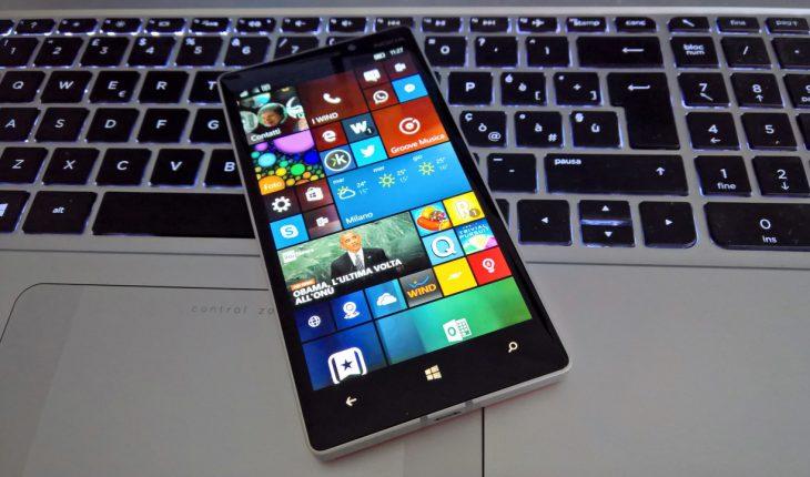 Anniversary Update di Windows 10 Mobile