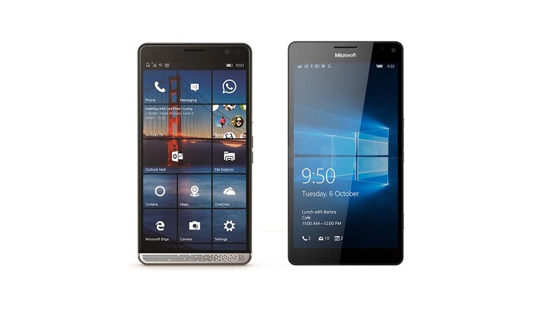 HP Elite X3 vs Lumia 950 XL, registrazione video a confronto