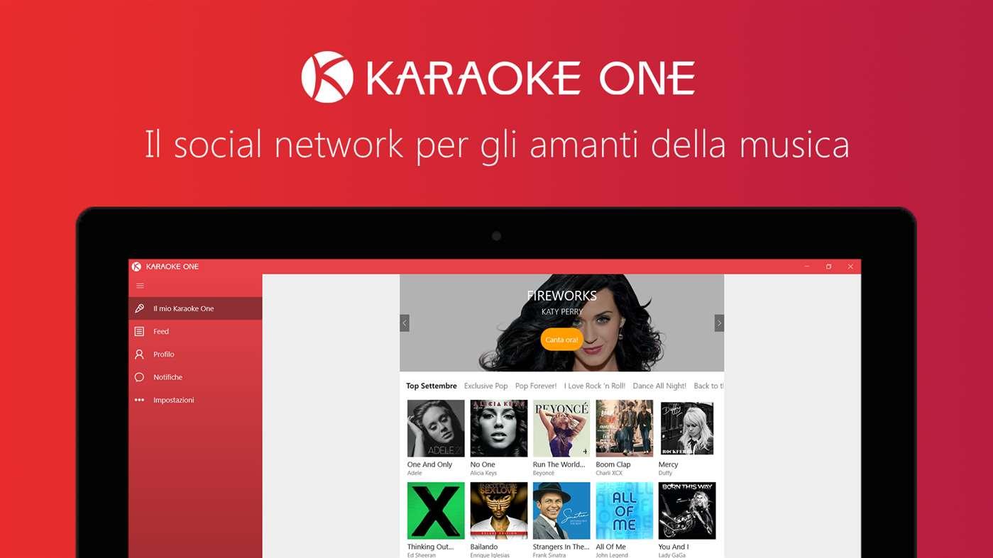 Karaoke One, una nuova app con funzioni social è disponibile per PC, tablet e smartphone con Windows 10