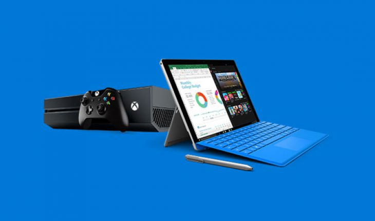 Surface Pro 4 + Xbox One