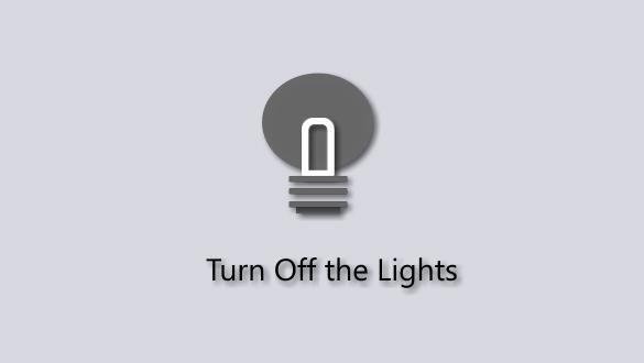 Turn Off the Lights, l'estensione per Microsoft Edge che spegne la luce nelle pagine web