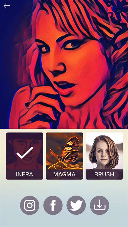 Matissa, un'altra app clone di Prima con tanti filtri e un'interfaccia semplice e pratica