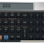 HP 12C Financial Calculator fr X3