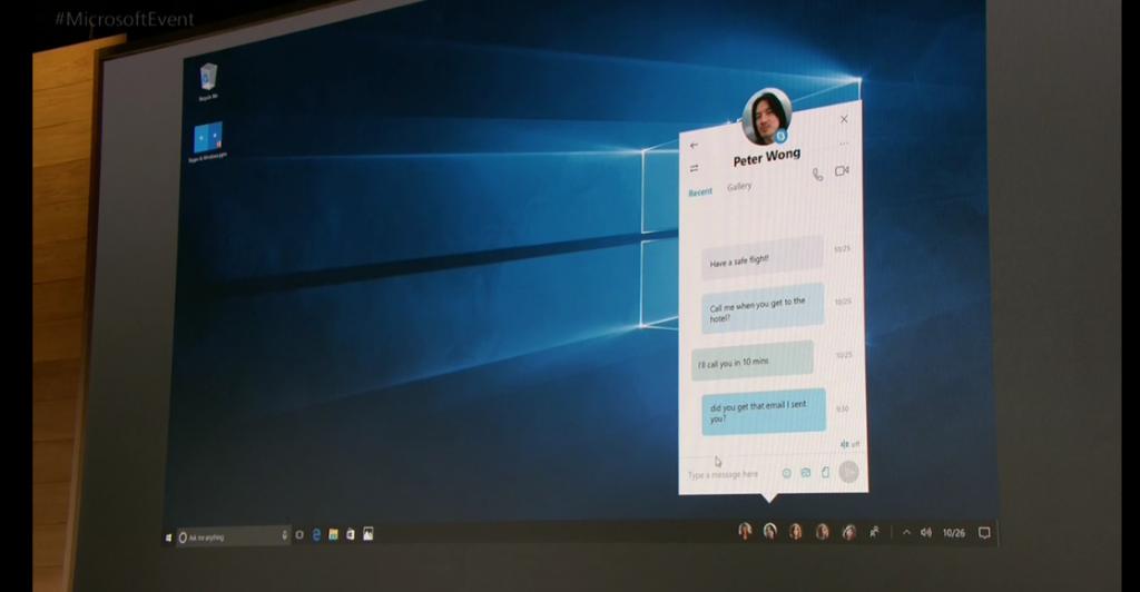 Skype su Windows 10 Creators Update